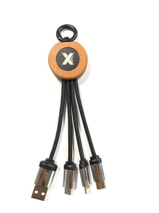 Bambu Işıklı Şarj Kablosu KL40